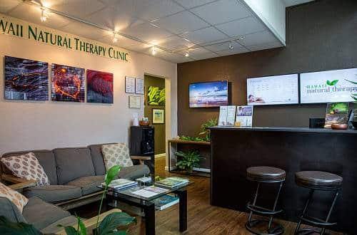 Hawaii Natural Therapy Reception